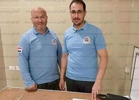 """""""إسعاف شمال سيناء"""": تكريم سائق ومسعف سلما مبلغا بحوزة مصابين للشرطة"""