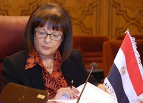 ليلى إسكندر تتفقد أعمال تطوير منطقة الصحابي وسوق الجيش في أسوان