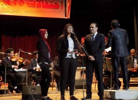 """""""ثقافة الفيوم"""" تحتفل بذكرى ثورة 25 يناير وعيد الشرطة بالأغاني الوطنية"""
