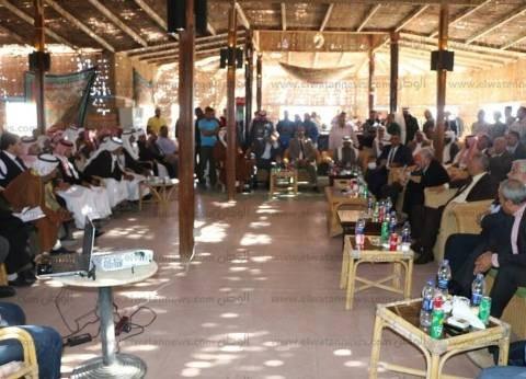 """""""التنمية السياحية"""" تتنازل عن أراضي المخيمات بطابا لمحافظة جنوب سيناء"""