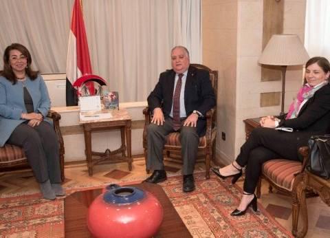 """""""والي"""" تستقبل الممثل الإقليمي لمفوضية الأمم المتحدة لشئون اللاجئين"""