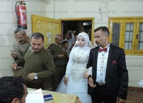 بالصور| منها العرسان والإسعاف.. مشاهد إنسانية من الانتخابات الرئاسية