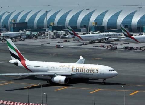 نمو حركة السفر عبر مطار دبي 1.7% خلال سبتمبر الماضي