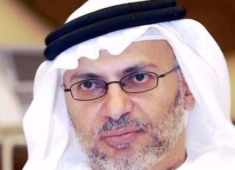 """""""قرقاش"""": """"آن الآوان لتخرج قطر من مرحلة الإنكار"""""""