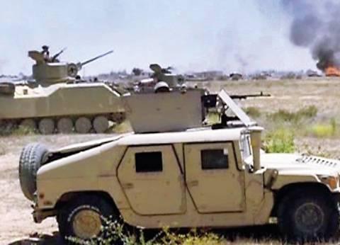 إحباط محاولة إرهابية لاستهداف قوة أمنية في رفح بسيارة مفخخة