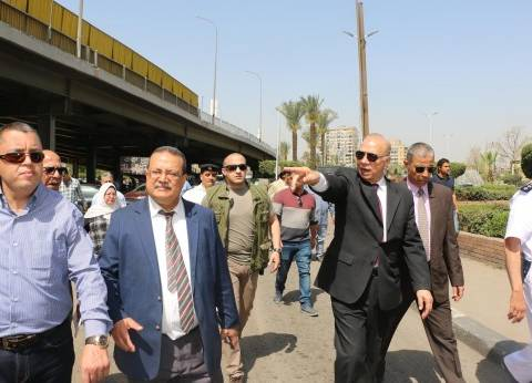 محافظ القاهرة: تطوير محور عباس العقاد لرفع كفاءة المحاور الرئيسية