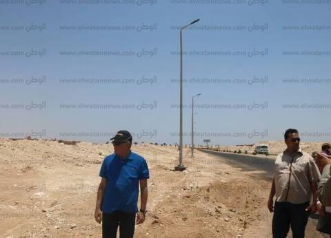 بالصور| محافظ جنوب سيناء يتفقد أعمال تطوير منطقة نبق