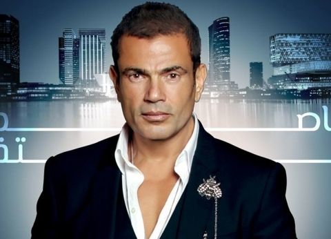 عمرو دياب ينعى ضحايا حريق محطة مصر