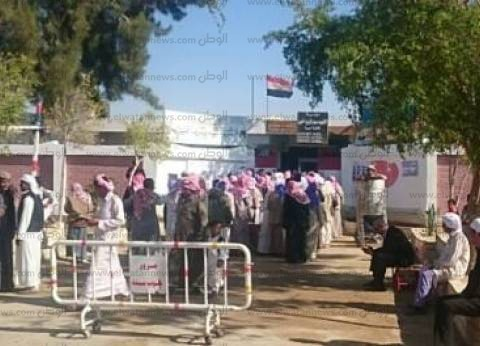 بالصور| 32.5 % نسبة المشاركة في جنوب سيناء قبل ساعة على إغلاق الصناديق