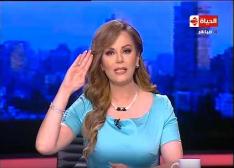 جيهان منصور تؤدي التحية العسكرية للقوات المسلحة