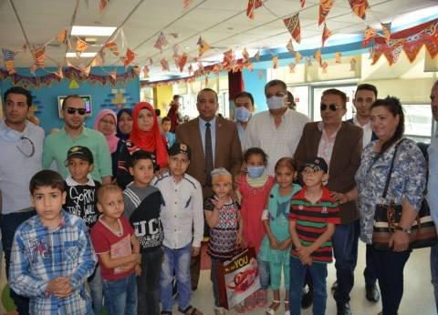 """""""من أجل شبرا الخيمة"""" في زيارة لمستشفى 57357"""