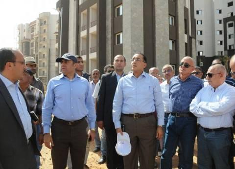 مدبولي من العاصمة الإدارية الجديدة: تنفيذ 25 ألف وحدة بالحي السكني