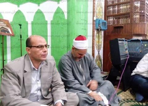 رئيس مدينة أشمون يشارك في أمسية دينية بشطانوف