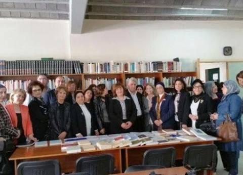 وفد من الهيئات النسائية في لبنان يزور كلية العلوم الاجتماعية بطرابلس
