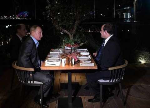 عاجل| بوتين للسيسي: العلاقات مع مصر تتطور بشكل بناء ومستمر