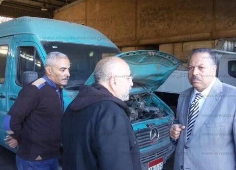 محافظ أسيوط يطالب بمتابعة الحملات الميكانيكية للمراكز والمشروعات