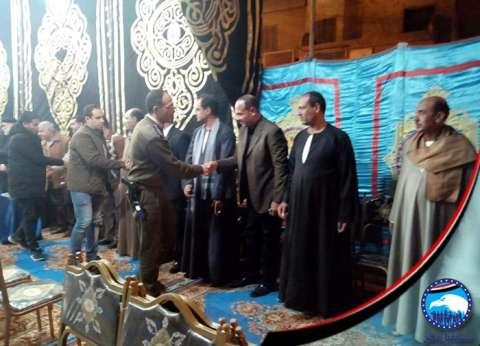 """""""مستقبل وطن""""يقيم سرادق عزاء لـ""""شهداء مسجد الروضة"""" ببني سويف"""