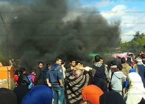 """مواطنون يحاولون حرق بيت المتهم باغتصاب """"طفلة البامبرز"""""""