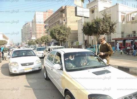 ضبط 190 مخالفة مرورية وإزالة 120 حالة إشغال طريق في حملة بالبحيرة
