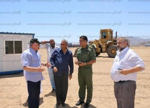 بالصور| البدء في إنشاء أكبر محطة تموين السيارات بالشرق الأوسط في شرم الشيخ