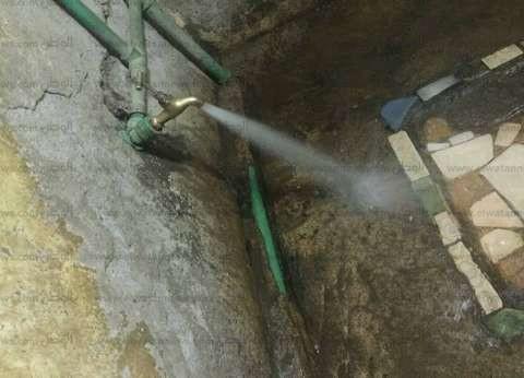 """خط مياه جديد لري """"الريق الناشف"""" لأهالي عزبة أولاد إلياس في أسيوط"""