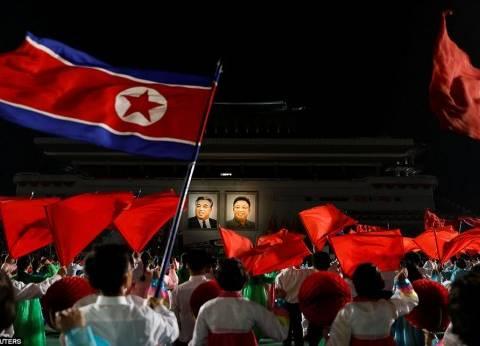 بالفيديو| عرض في كوريا الشمالية يظهر أمريكا تحترق