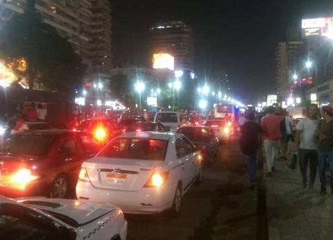مسيرات بالسيارات في شمال سيناء احتفالا بتأهل المنتخب للمونديال