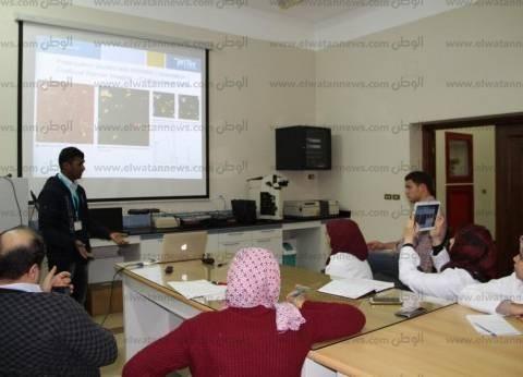 جامعة كفر الشيخ تزود معهد علوم وتكنولوجيا النانو بمجهر للقوى الذرية