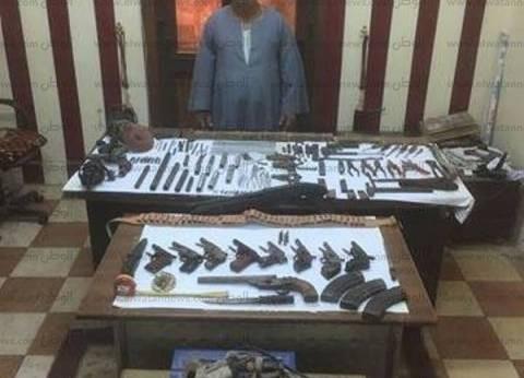 ضبط ورشة لتصنيع الأسلحة النارية بالإبراهيمية في الشرقية