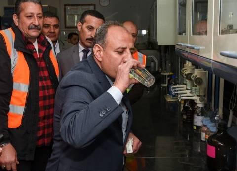خوف بسبب ظهور حالات تسمم من مياه الشرب في الإسكندرية.. والمحافظ: آمنة