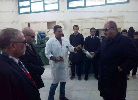 بالصور| انطلاق أول الامتحانات العملية لطلاب المدرسة النووية في الضبعة