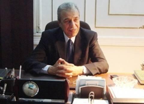محافظ المنيا يتفقد أعمال توسعة وتطوير مدخل كوبري النيل