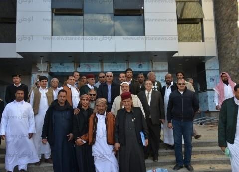 محافظ مطروح: الانتهاء من إنشاء مستشفى السلوم ديسمبر.. وفتحها لليبيين