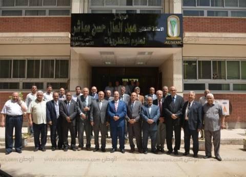 جامعة أسيوط تخلد اسم عبدالعال مباشر بإطلاق اسمه على مركز الفطريات