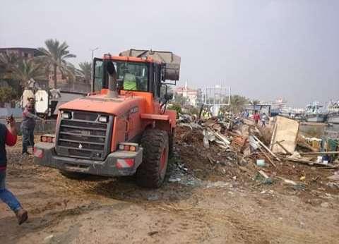 """""""أمن كفر الشيخ"""" ينفذ 24 قرار إزالة تعديات على أملاك الدولة"""