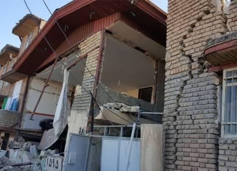 بالفيديو| هروب جماعي من أحد مقاهي كردستان العراق بسبب الزلزال