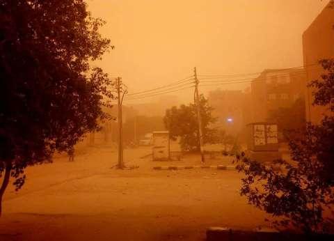 حريقان وسقوط بعض أعمدة الكهرباء حصيلة العاصفة الترابية بالوادي الجديد