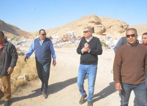 محافظ المنيا يقود حملة لاسترداد 5 آلاف فدان من أراضي أملاك الدولة