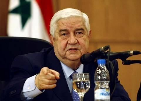 """وليد المعلم يهدد الأردن: """"إذا دخلت قواتكم سوريا سنعتبرها قوات معادية"""""""