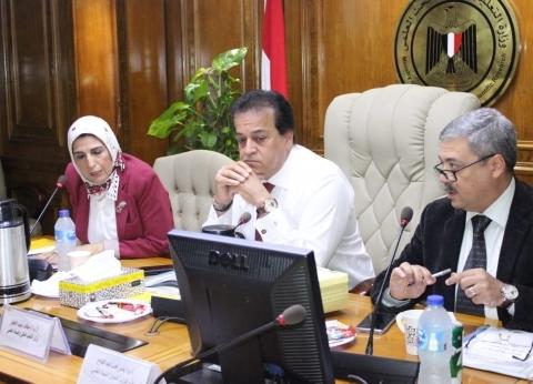 عبد الغفار يرأس اجتماع مجلس إدارة المعهد القومي لعلوم البحار والمصايد