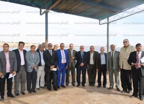 جامعة أسوان توافق على إنشاء حقول إرشادية بضفاف بحيرة ناصر
