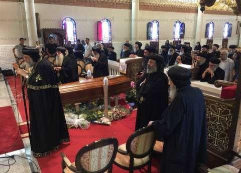 22 مطرانا وأسقفا بالكنيسة يشاركون في جنازة الأنبا كيرلس بميلانو