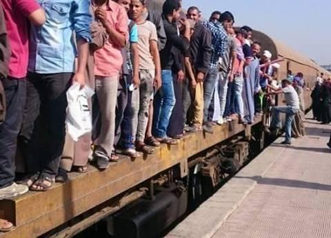 مصرع شخص تحت عجلات قطار أبو قير في الإسكندرية