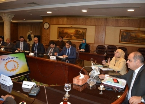 """لجنة من """"الوزراء"""" لمتابعة المشروعات الخدمية في الغربية"""
