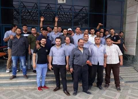 أمن بمستشفى شبين الكوم الجامعي يضربون عن العمل للمطالبة بالتثبيت