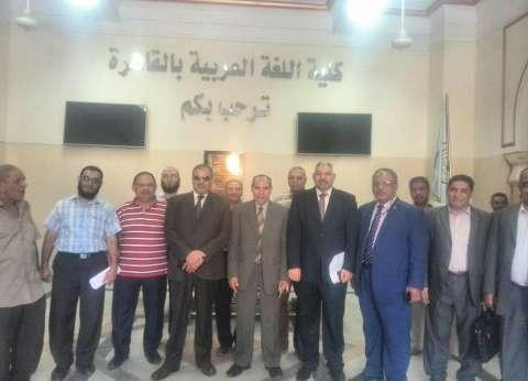 """""""المحرصاوي"""" يتابع سير الامتحانات بفرع جامعة الأزهر في الدراسة"""