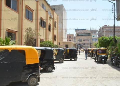 """حجز 49 """"توك توك"""" و71 دراجة نارية في حملة مرورية بالقاهرة"""