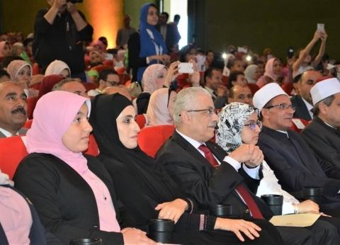 وزير التربية والتعليم يشهد فعاليات الحفل الختامي لمسابقة تحدي القراءة العربي