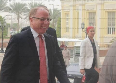 وزير الثقافة يفتتح أعمال تطوير مسرح بيرم التونسي