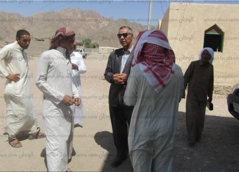 """بالصور  رئيس """"أبورديس"""" يتفقد مزرعة """"وادي مكتب"""" في جنوب سيناء"""